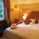 Our lovely panelled room