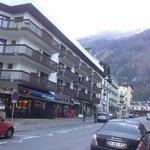 Вид отеля с улицы