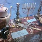 Objetos diversos dos judeus argentinos da época