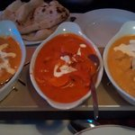 Mild dishes - butter, pasanda and korma chicken
