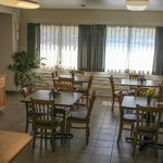 Our Breakfast Area... each morning you get a complementary full hot breakfast!