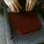 Chocolate by hand