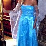 Princess Breana in her wedding dress