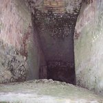 inside the lime kiln