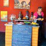 Frieda in Indigo Cafe