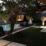 Pool area Villa 7