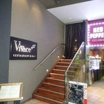 The entrance to Vivace is a little bit creepy, but don't be put off — it's worth the climb
