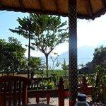 view from segara restaurant