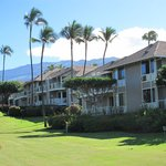 Grand Champion Villas and Mt. Haleakala views from golf course