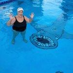 What a fun swimming pool!