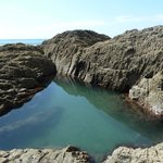 Rockpool for swimming