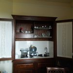 Kitchen in one bedroom suite - San Crispino Historical Mansion - 2013