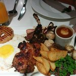 Mixed grill platter...yum!!!