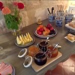 delicious breakfasts in a cosy ambience