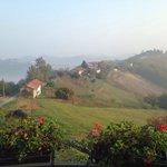 Panorama al mattino dalla finestra della mia camera 1 novembre 2014