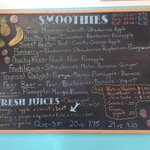 Smoothie and Juice Board