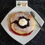 The Real Macaw Cafe - Berry Pancakes