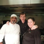 Jayesh, Ewan and Sheila. Thank you so much for your hospitality