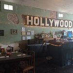 The Hollywood Cafe bar
