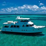 Aroona on the Great Barrier Reef