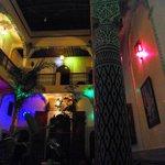 Le Riad le soir
