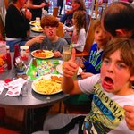 Family memories are made at Wimpy
