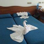 Nette Handtuch Dekoration