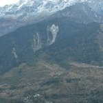 Image of Ganesha on the hills