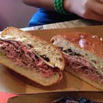 Roast beef 1000 sandwich. Delicious!
