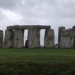 Stonehenge early morning not may tourists
