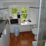 Les toilettes dans la cuisine