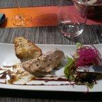 Foie gras maison..quelle delice..
