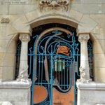 one of the art nouveau buildings we studied