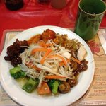 Mixed Chinese plate.