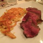 Bistecca alla fiorentina with Knusprige Butterrösti