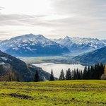 Ausblick auf das Kitzsteinhorn