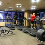 Fitness Center has lots of new equipment