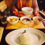 Red Curry . Murgh Kari . Yellow Curry .Tom Kha Gai .