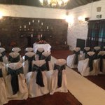 Lovely for a private wedding