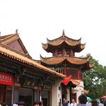 Nice Traditional Chinese Building in Green  Lake