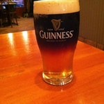 The Perfect Black and Tan (thanks to Stacy, our server)