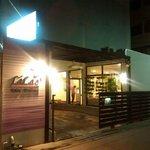 LiLac Hotel at night