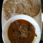 Roti Prata- The Rendang was not up to mark today.