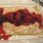 mixed berry crepe