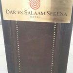 The podium at serena