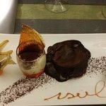 Le dessert, un vrai regal....tout fait maison