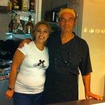 Maria und Franco führen das Pepe Nero gemeinsam.