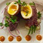 Char-Grilled Tuna