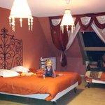 La chambre Mille et Une Nuits (familiale)