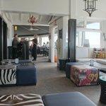 Lounge an der Bar